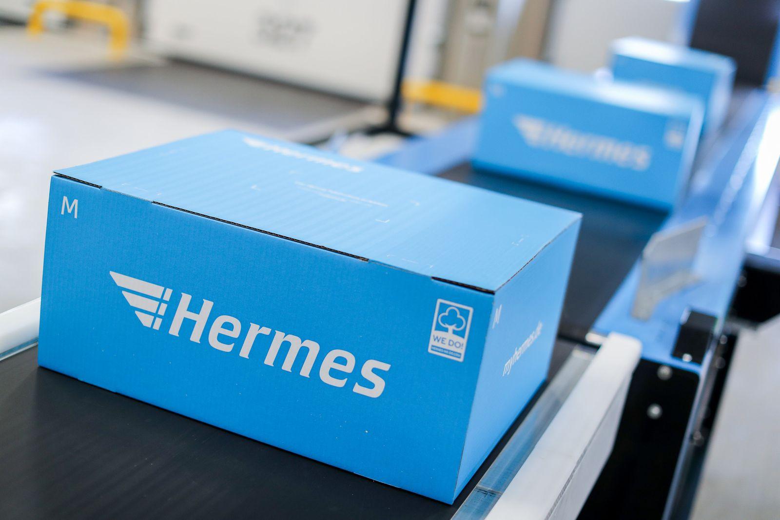 Paketlogistiker Hermes