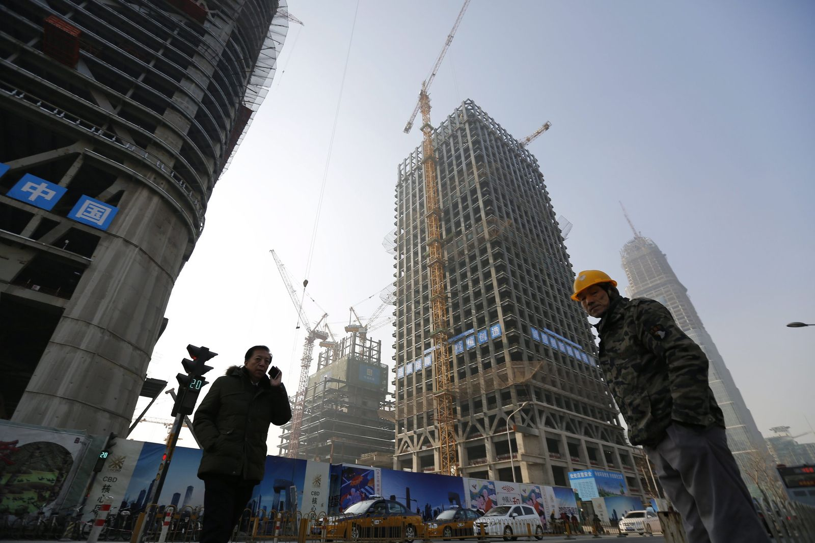 China growth falls to lowest in quarter of a century