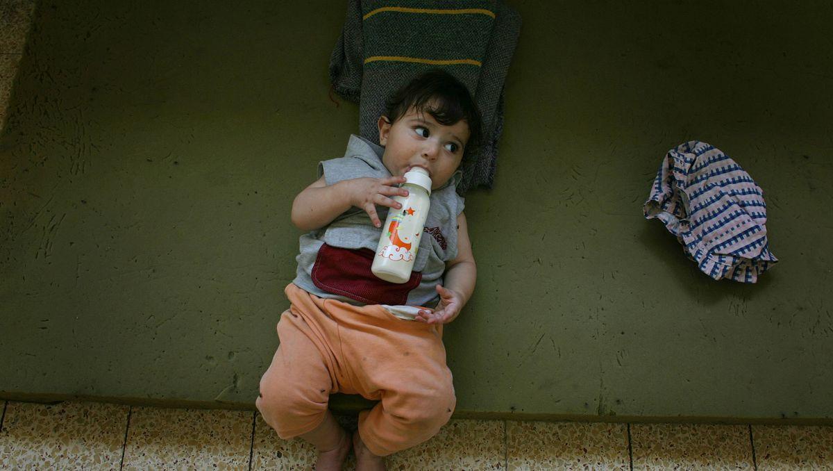 Säuglingsernährung für übergewichtige Kinder