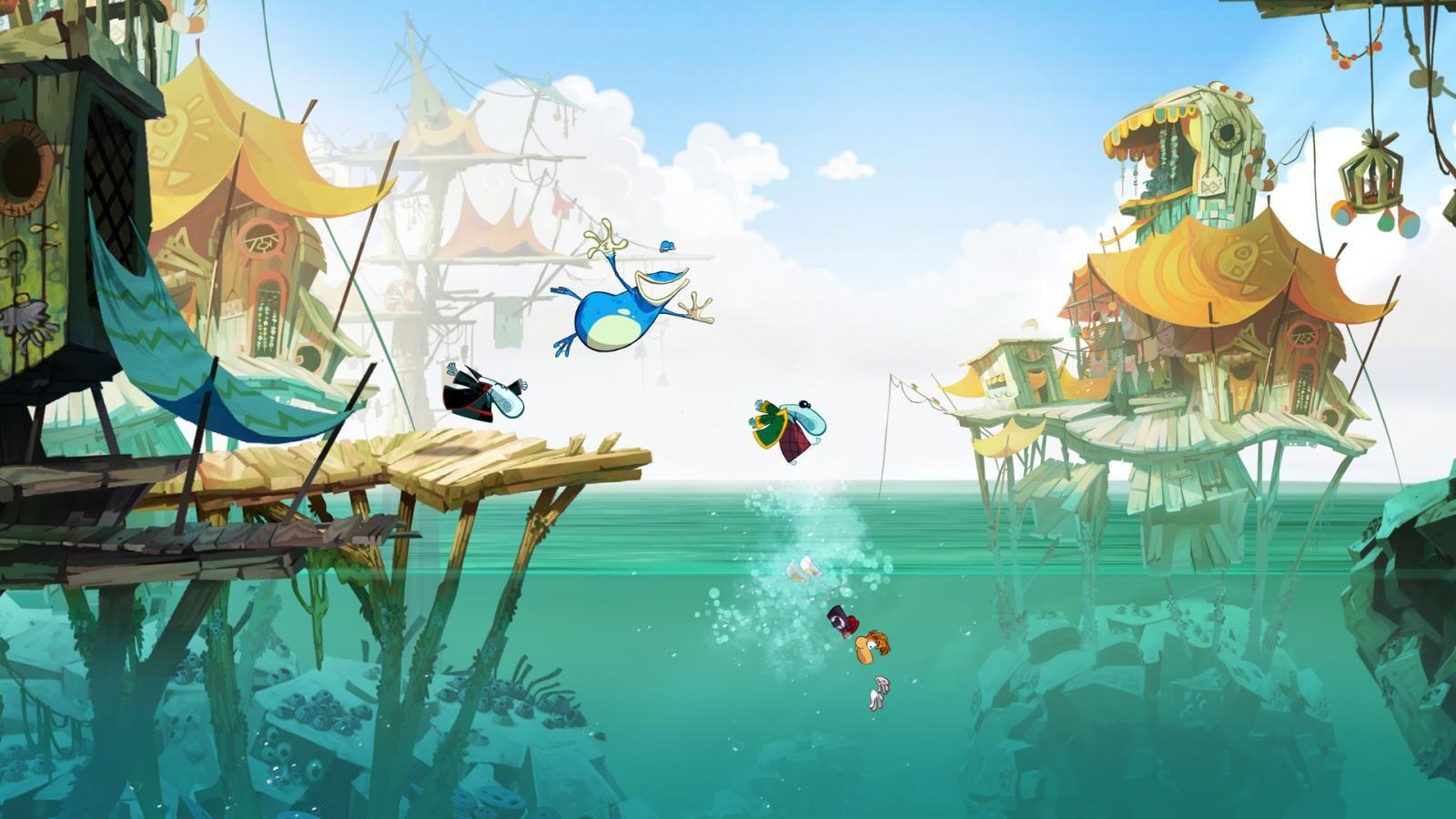 NUR ALS ZITAT Screenshot Rayman Legends