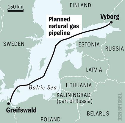 The planned pipeline