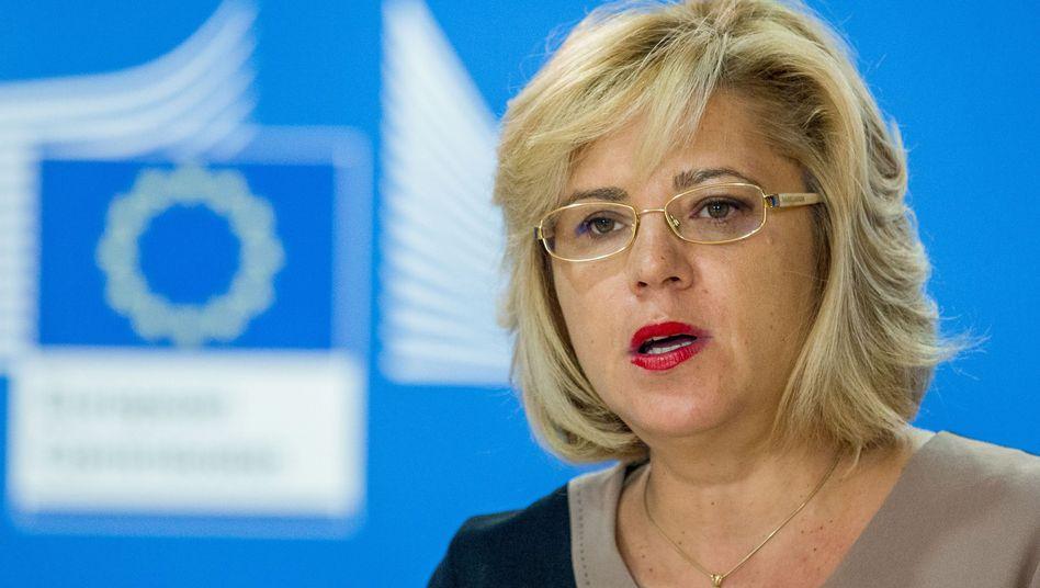 EU-Kommissarin Corina Cretu