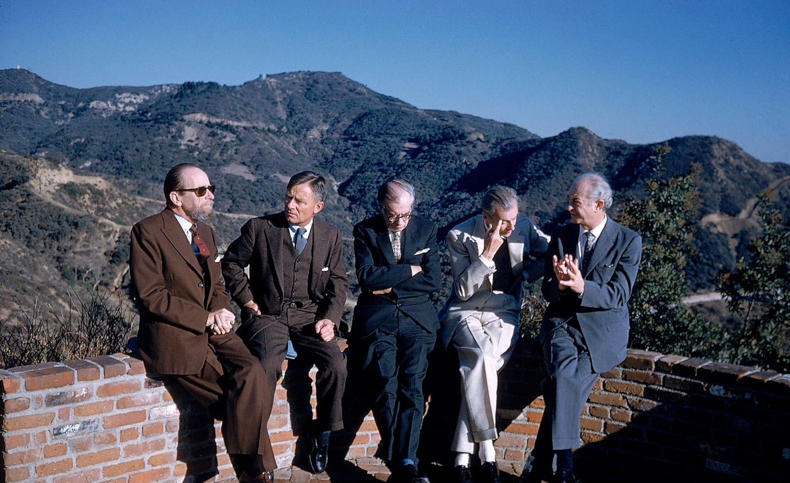 Pauling, Heard, Isherwood, & Two Huxleys