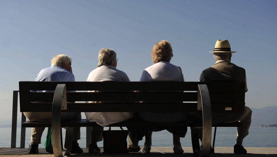 Rentner: Der Ruhestand beginnt in der EU im Schnitt mit knapp über 60