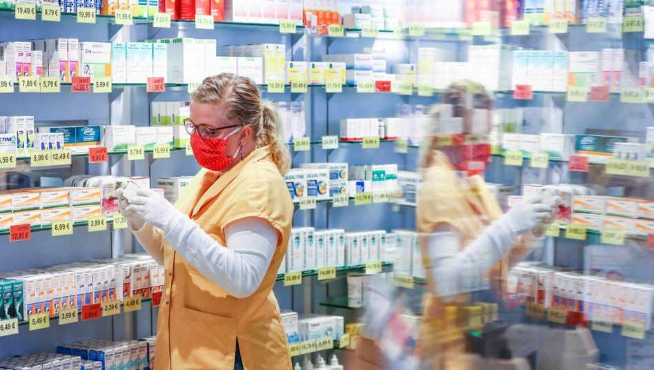 Apotheke in Sachsen: ein Plus von 1,3 Milliarden Euro im ersten Halbjahr