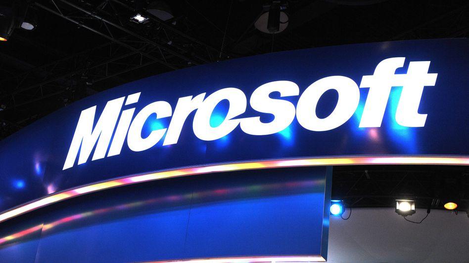 Microsoft-Logo (in Las Vegas): 400 Millionen Euro Verlust
