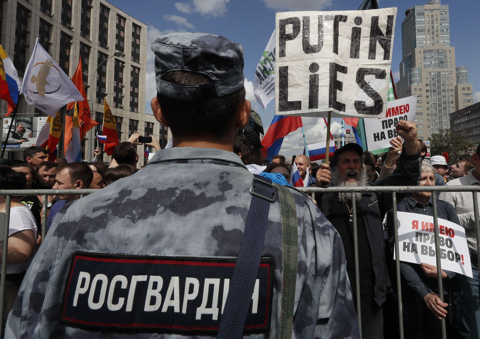 Russland/ Opposition/ Demo