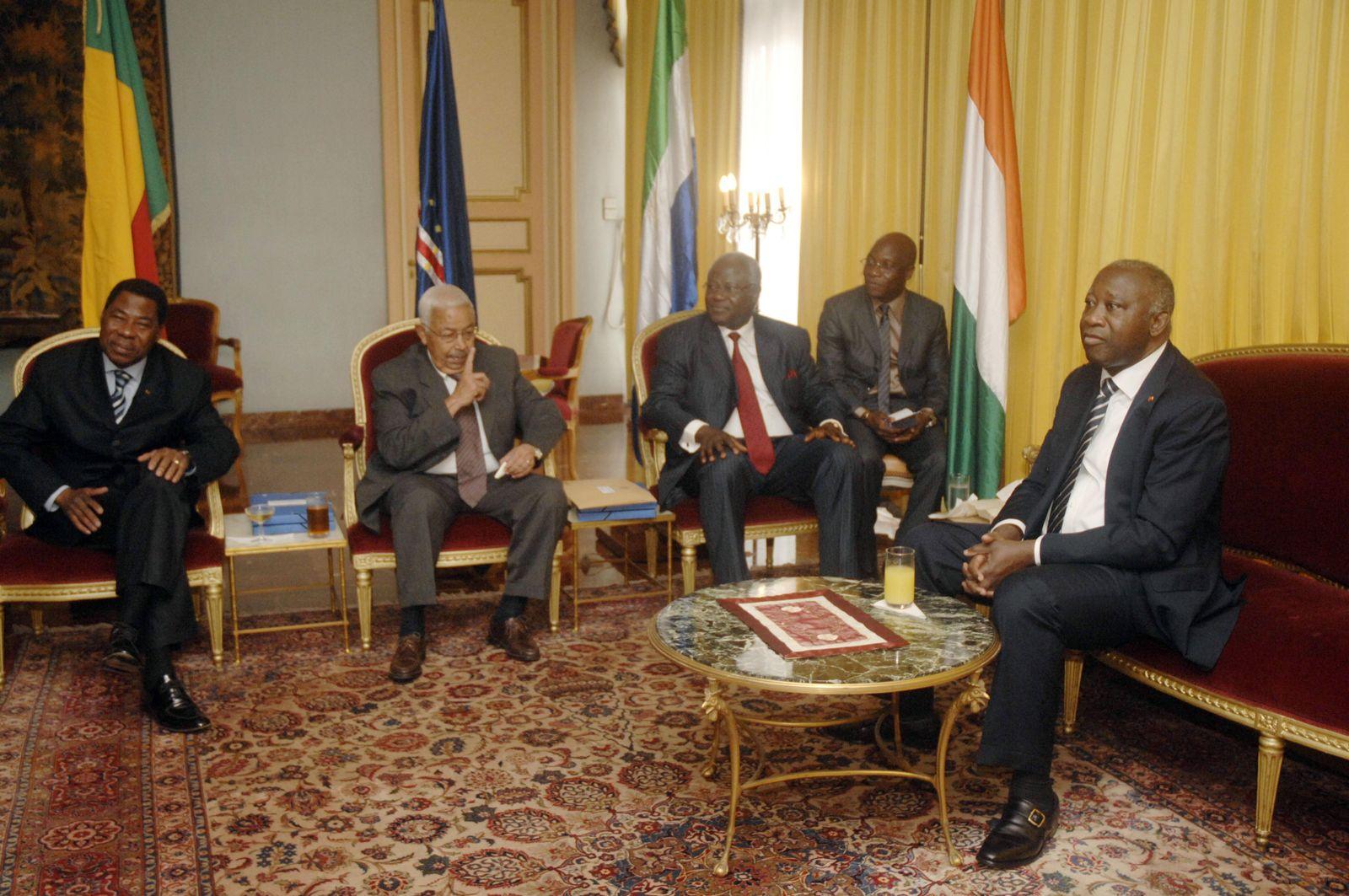 Elfenbeinküste Gbagbo
