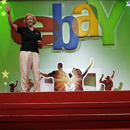 """Ebay-Chefin Whitman (bei Messe """"eBay Live!"""" in Boston): Zweifel an Geschäftsmodell"""