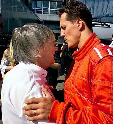 """Bernie Ecclestone, Michael Schumacher: """"Zu einfach zu fahren?"""""""