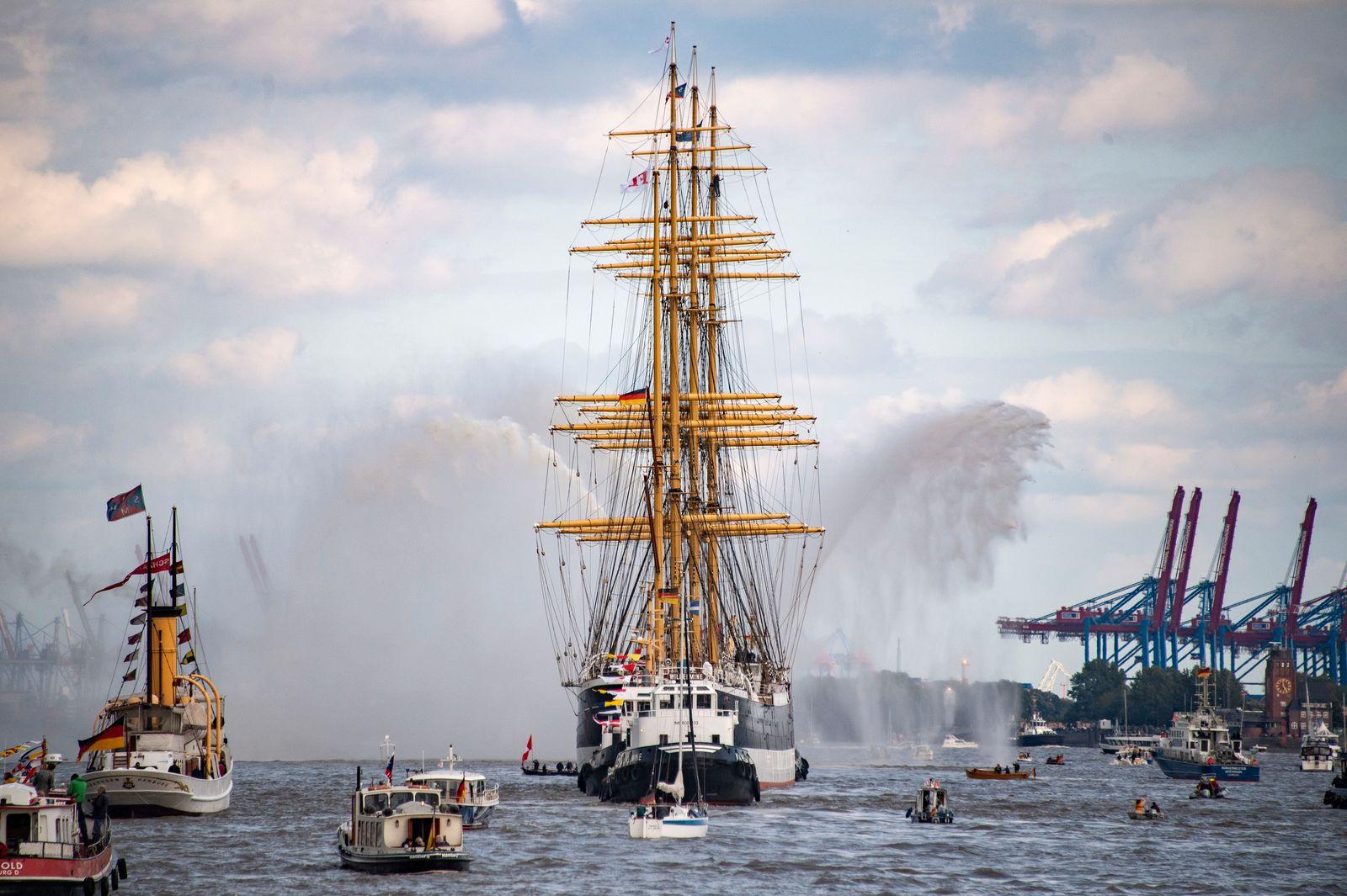 """Die """"Peking"""" kehrt nach 88 Jahren nach Hamburg zurück"""
