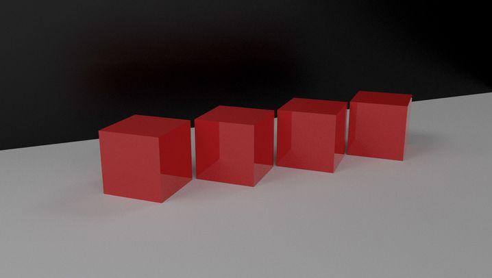 Würfelschnitte: Dreieck, Fünfeck, Sechseck