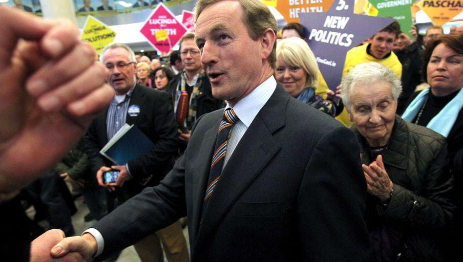 Fine-Gael-Parteichef Kenny: Volkszorn verleiht ihm einen Umfragevorsprung von 20 Prozent