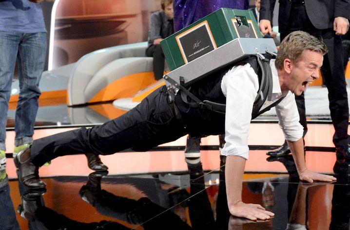 """Markus Lanz am 6. Oktober bei """"Wetten, dass..?"""": Mann, ist der stark. Und langweilig."""
