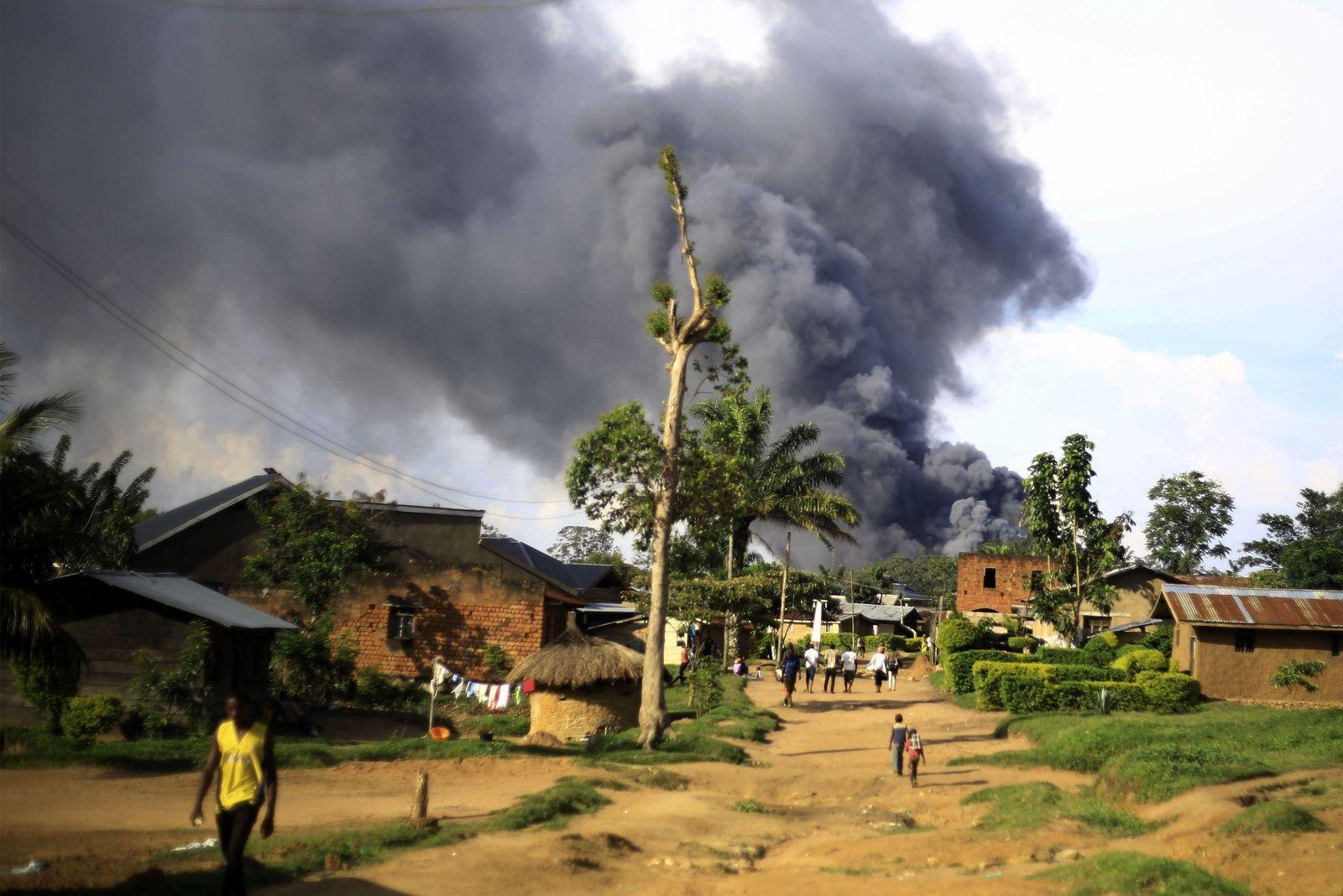 Unruhen im Kongo