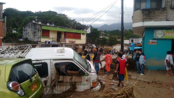 Kolumbien: Fatale Fluten