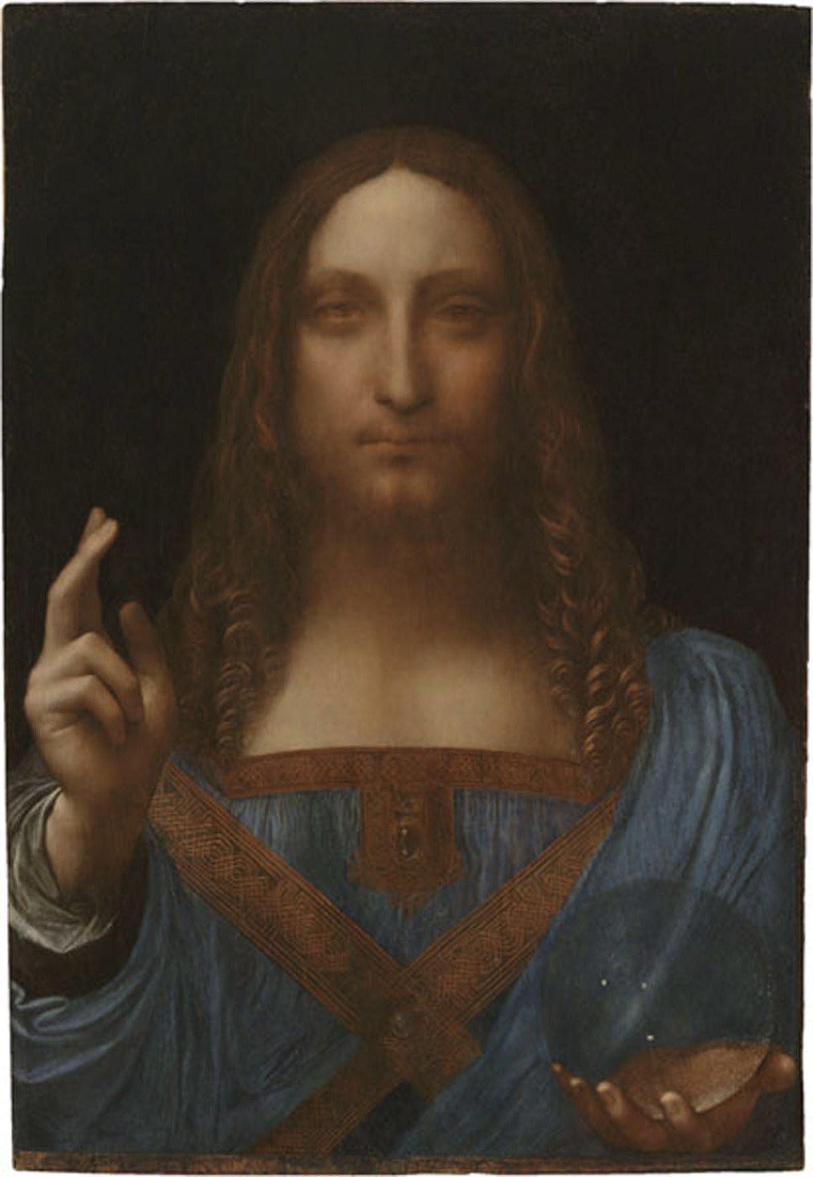 Leonardo da Vinci/ salvator mundi