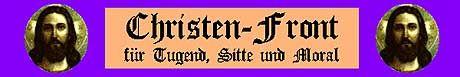 """""""Christen-Front für Tugend, Sitte und Moral"""": Zwischen Aberwitz und Parodie"""