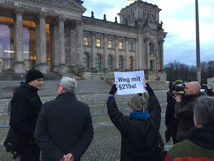Kristina Hänels Unterstützer