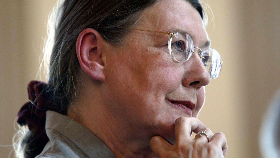 Monika Schoeller von Holtzbrinck 2004 bei der Verleihung der Goethe-Plakette an sie