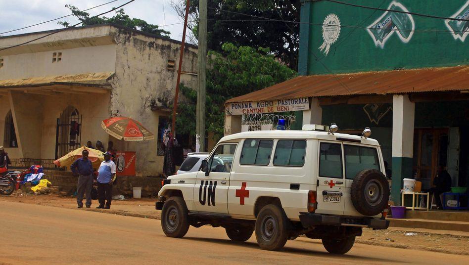 Uno-Fahrzeug im Kongo (Symbolbild)