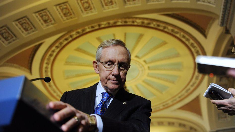 US-Senator Harry Reid: Abstimmung verschoben
