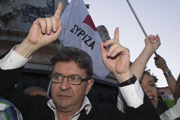 """Linkspolitiker Mélenchon: Lob für """"den immensen Mut des griechischen Volkes"""""""