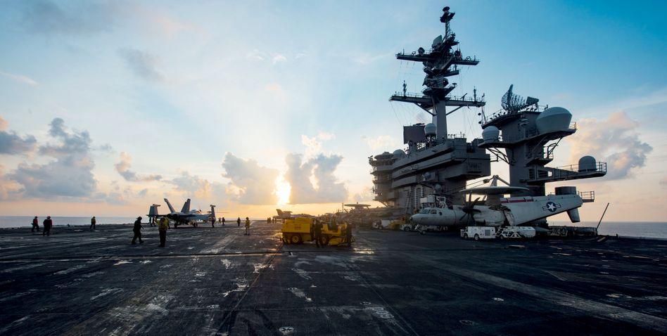 "Flugzeugträger ""USS Carl Vinson"""