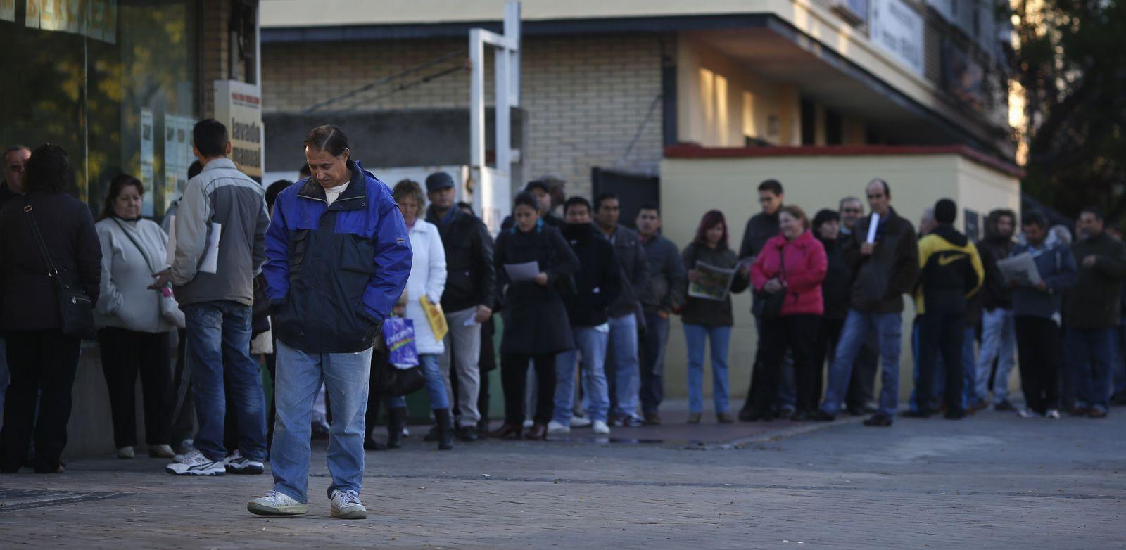 Arbeitslosigkeit Spanien