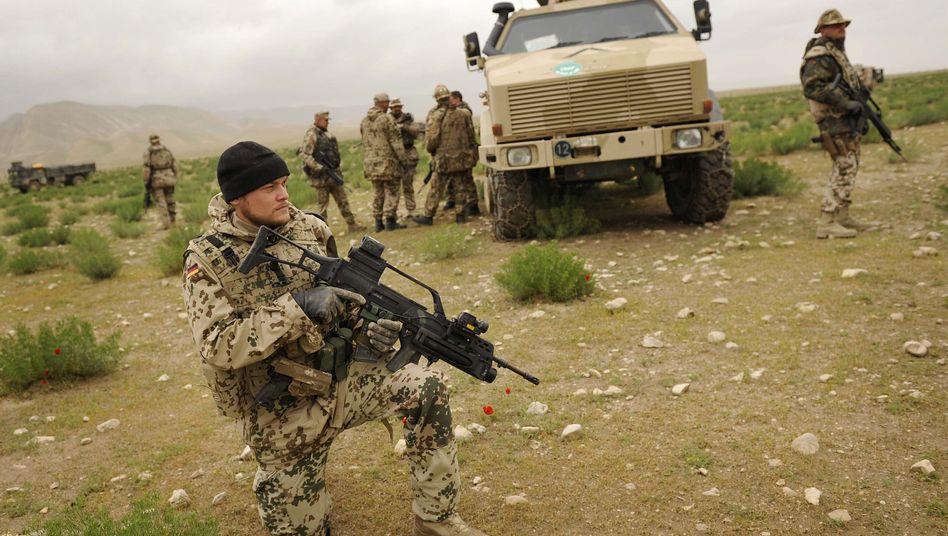 Bundeswehrsoldaten in Kunduz: Verlust der deutschen Unschuld