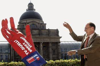 SPD-Kandidat Maget: Trost vom Kanzler