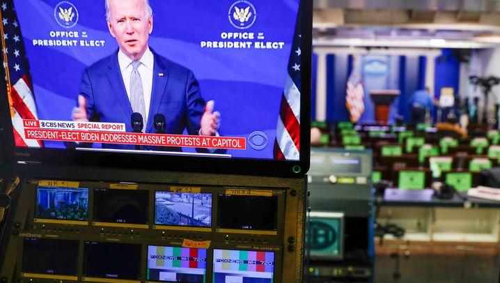 Washington: Sturm auf US-Kapitol