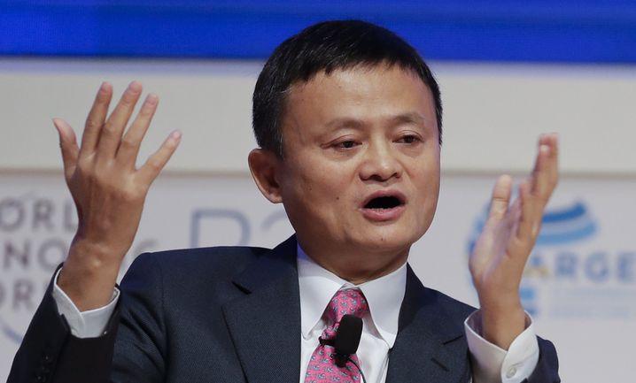 Jack Ma, Vorsitzender der chinesischen Alibaba Group
