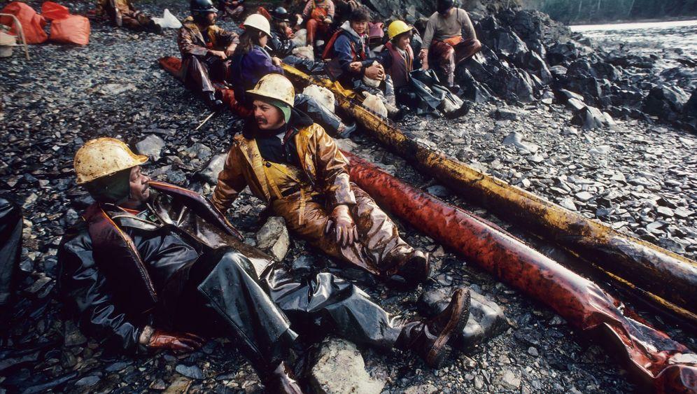 """Die """"Exxon Valdez""""-Katastrophe: """"Wir verlieren etwas Öl"""""""