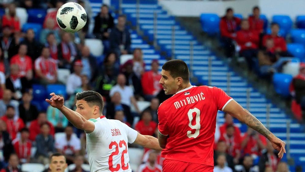 Schweizer Sieg gegen Serbien: Shaq attack!