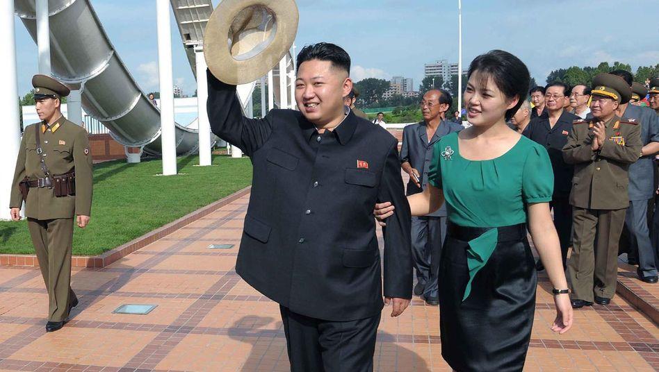 Kim Jong Un und Gattin Ri Sol-Ju: Erneut Vater geworden?