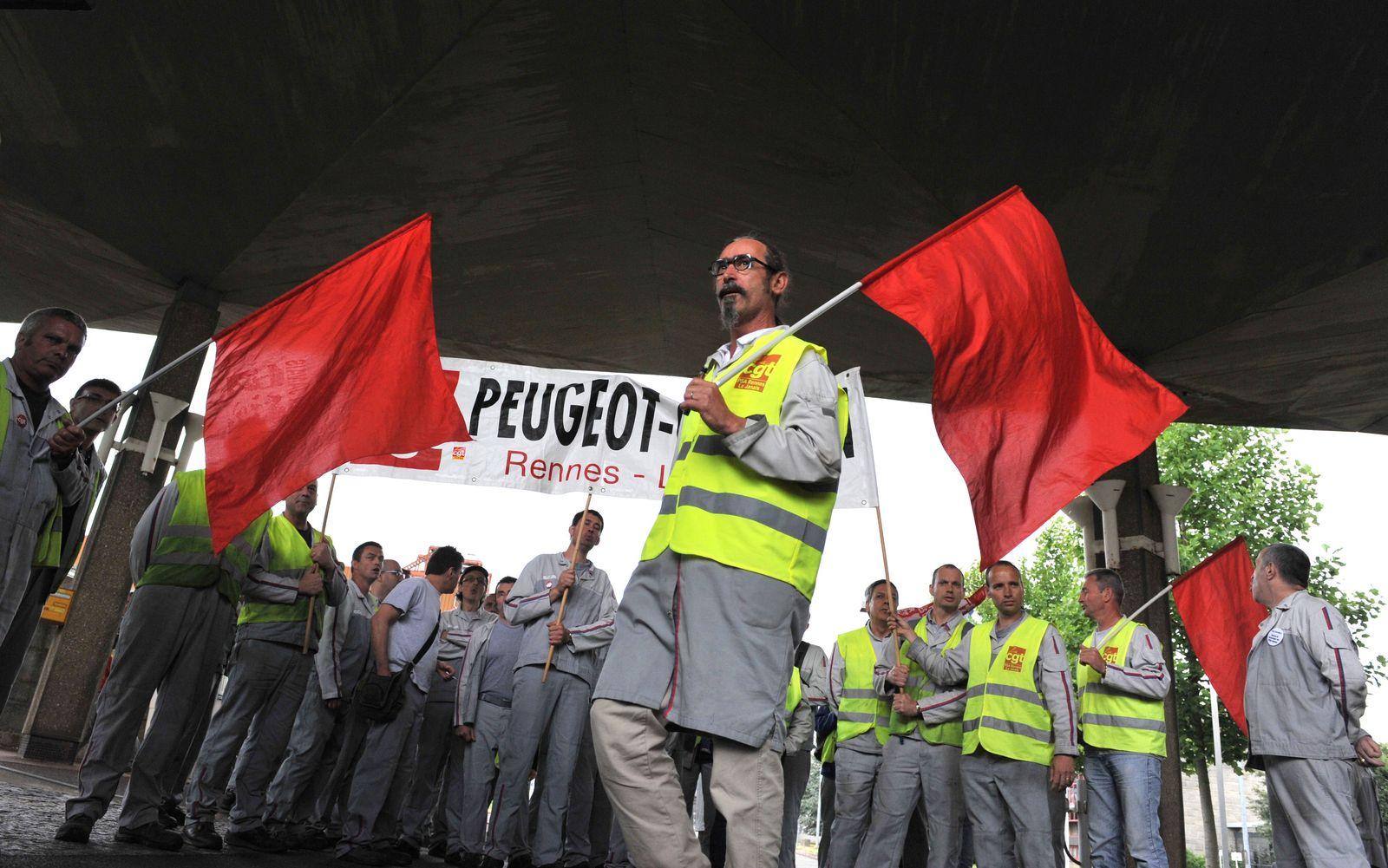 Peugeot Streik