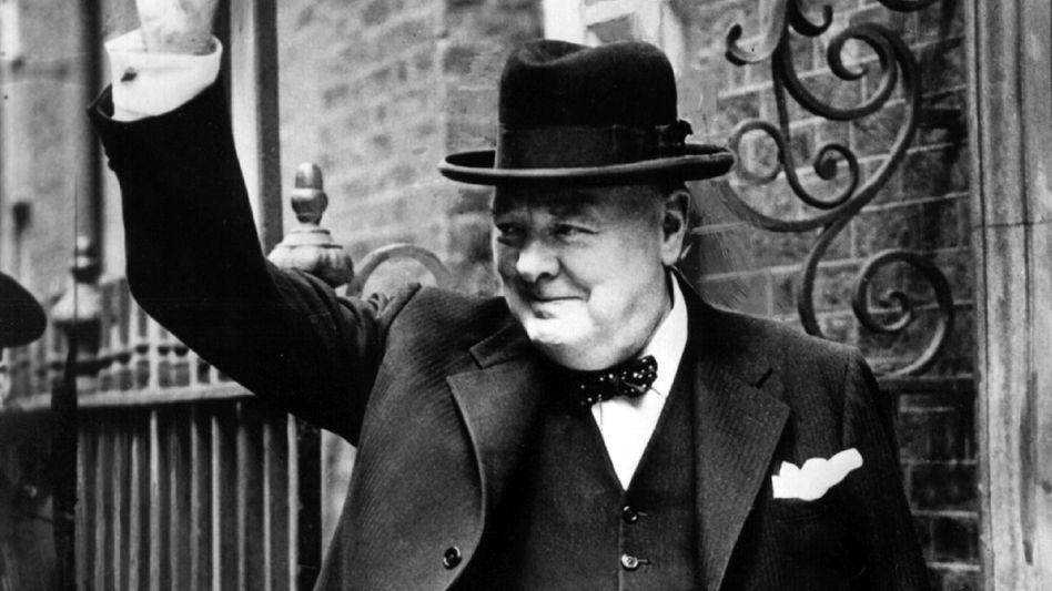 Winston Churchill im Jahr 1943: Ein bisschen ein Pascha