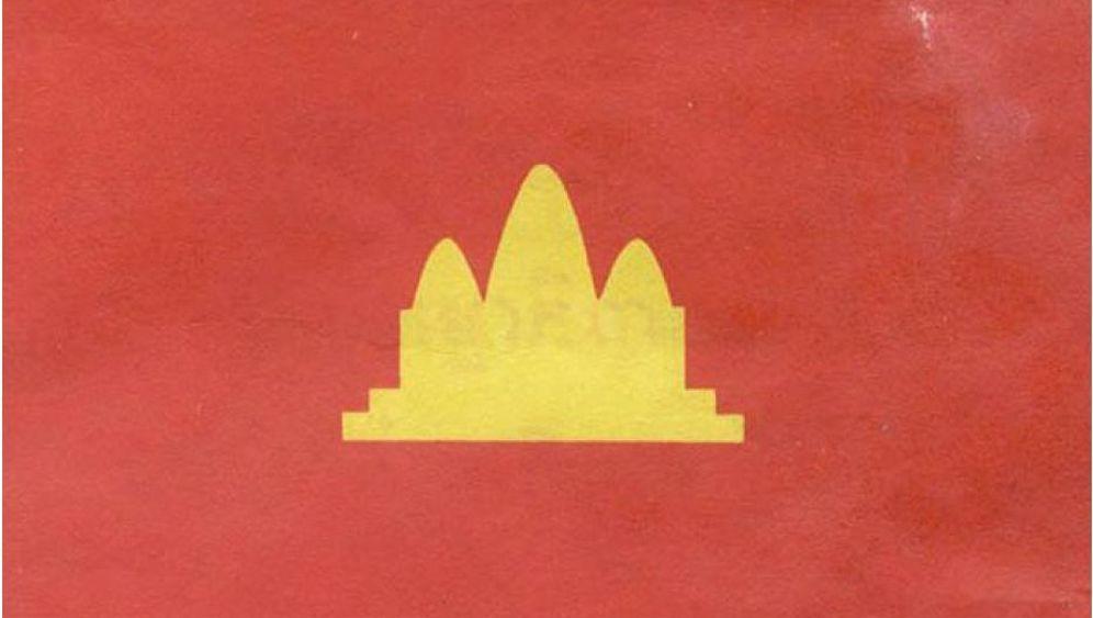 Kampuchea: Flagge mit Vergangenheit