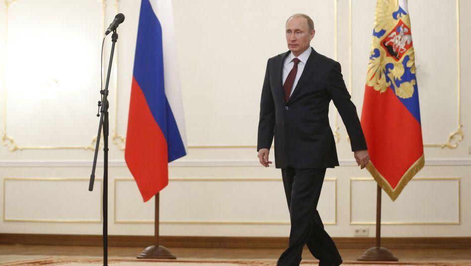 Russlands Präsident Putin: G7-Staaten planen neue Strafaktionen