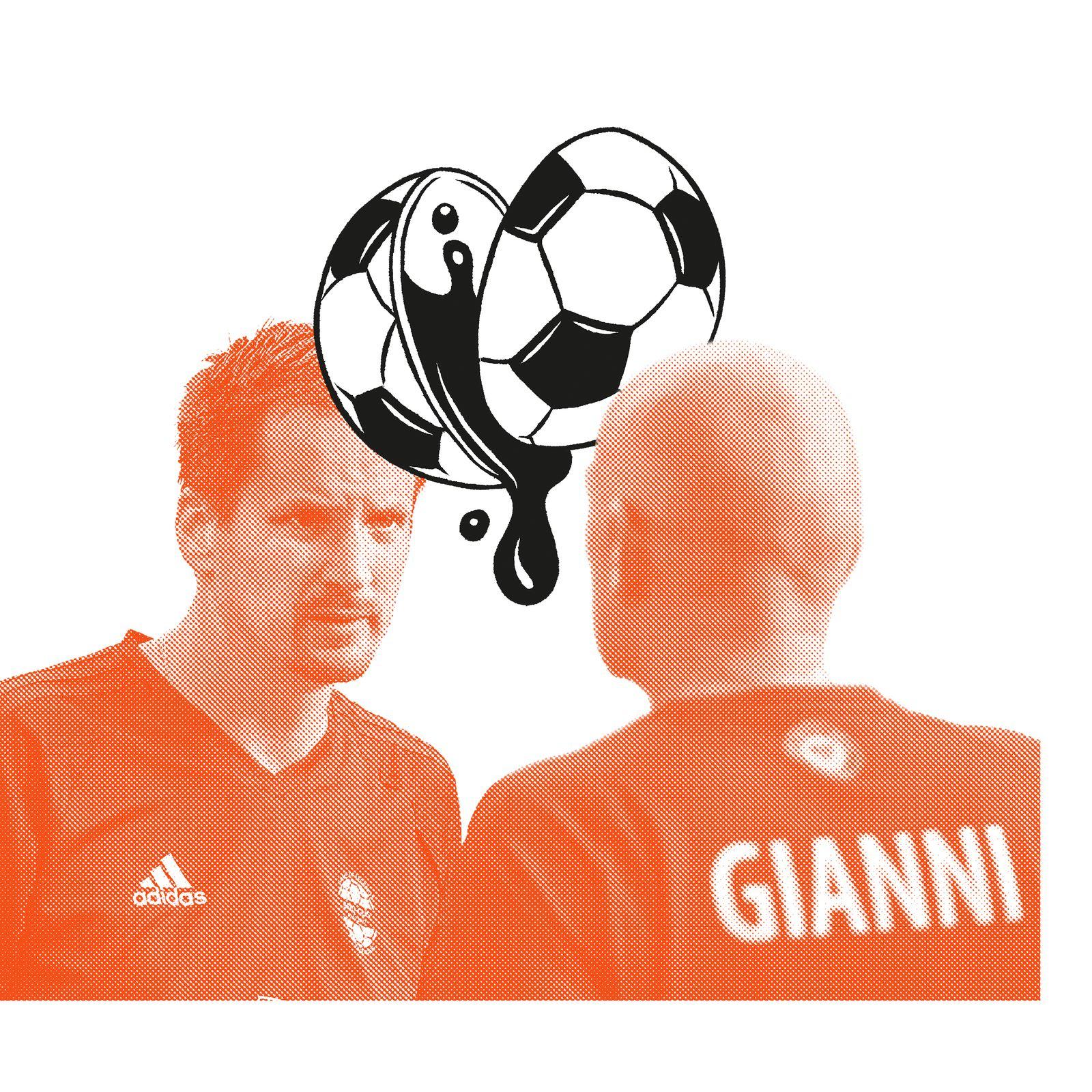 EINMALIGE VERWENDUNG DD/ Gianni Infantino / Rinaldo Arnold