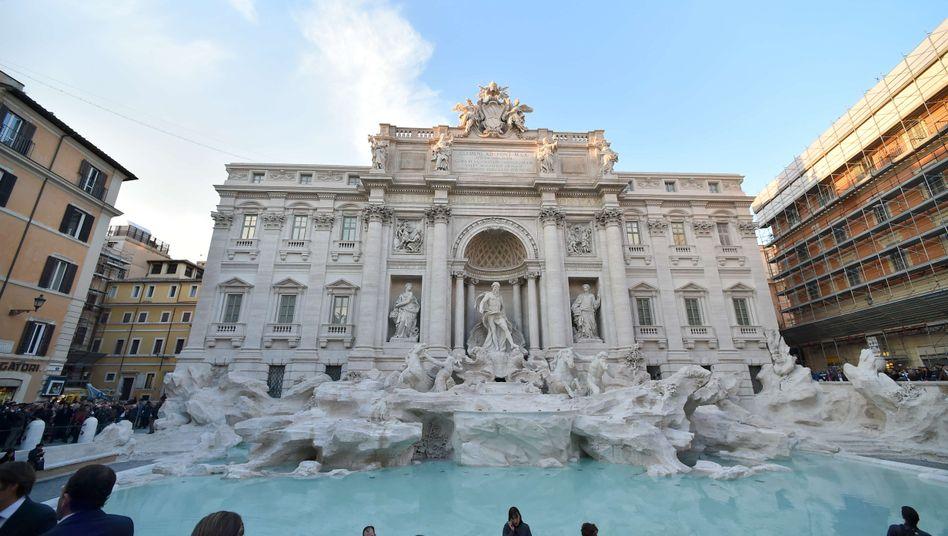 Trevi-Brunnen in Rom (Archivbild)