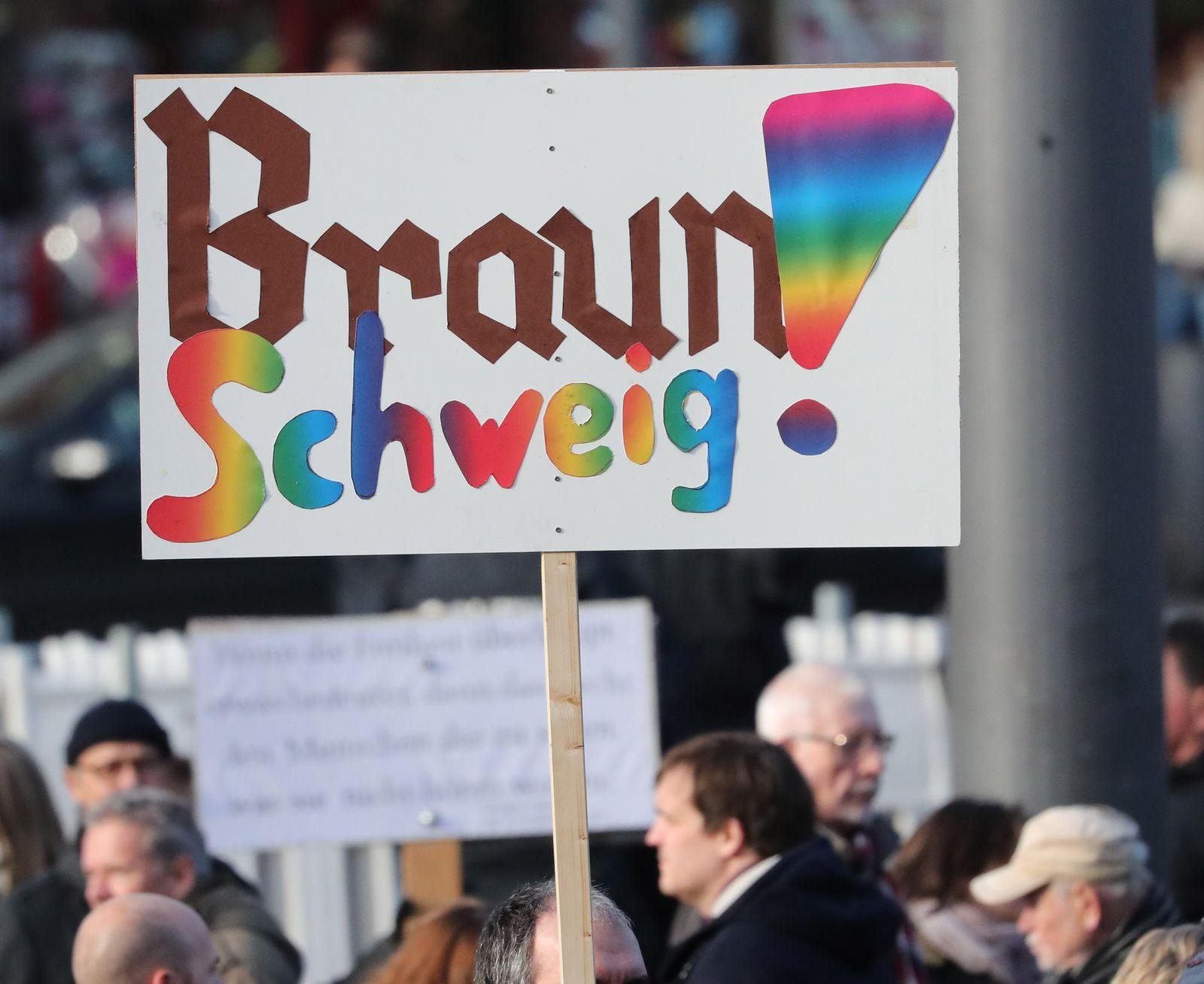 Demonstration/ Braunschweig/ Demo