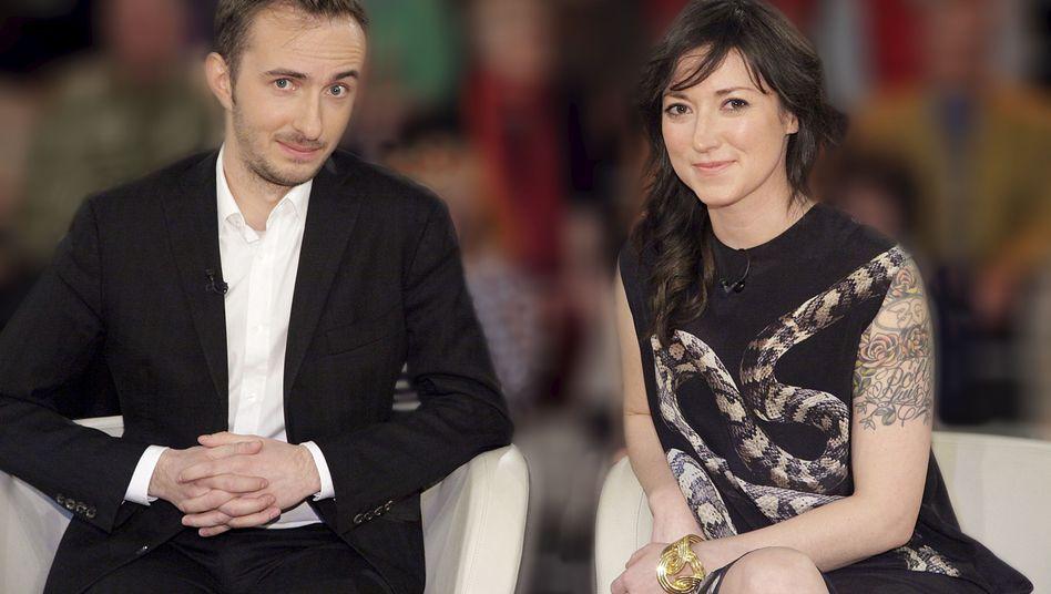 """Charlotte Roche und Jan Böhmermann, die für ZDFkultur """"Roche & Böhmermann"""" moderiert haben: Nach dem Aus für die Talkshow folgt nun das Aus für den Sender."""