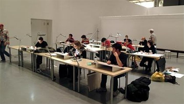 Die Kunst des SPIEGEL: Workshop der Illustratoren