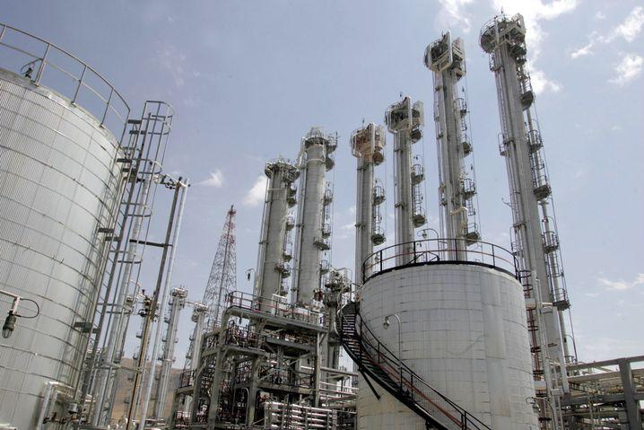 Reaktoranlage in Arak