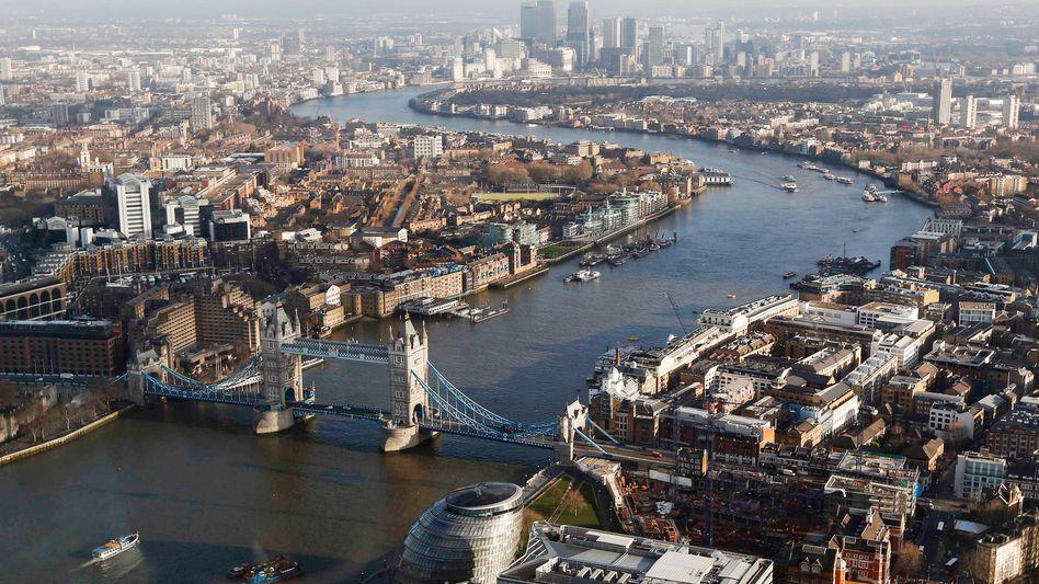 London: Hauptstadt Großbritanniens trägt mehr als ein Fünftel zur Wirtschaftskraft des Landes bei