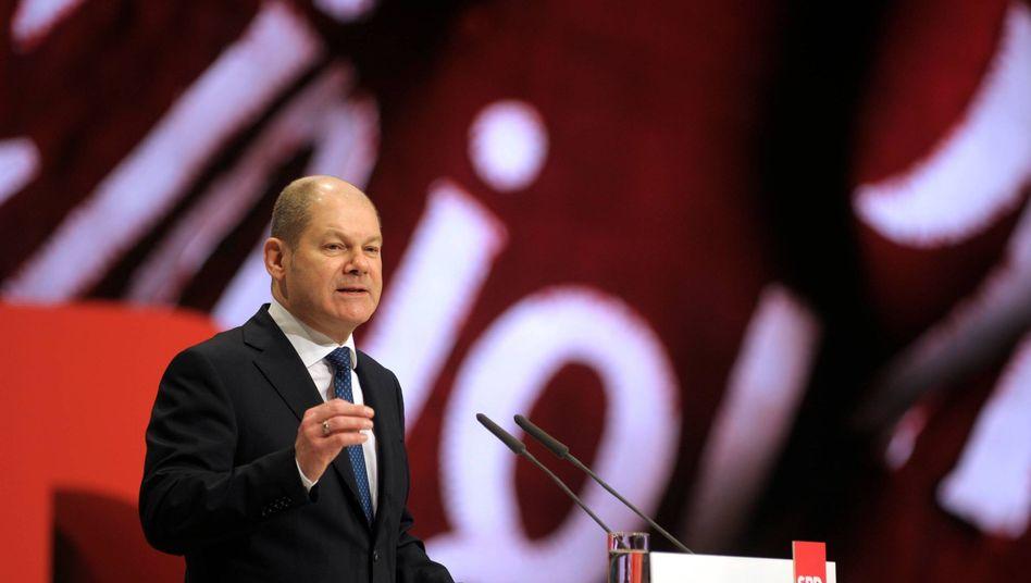 SPD-Politiker Scholz