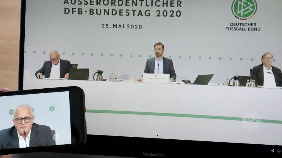 Virtueller DFB-Bundestag