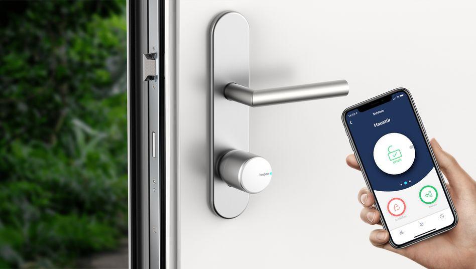 Tür auf: Smarte Schlösser erkennen ihren Besitzer am Handy